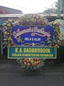 Bunga Papan Pernikahan (BPP3)