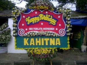 Bunga Papan Happy Birthday (BPU1)